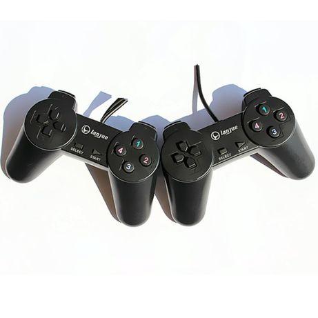 Comando Duplo Lanjue L300S PC Joystick Gamepad Usb Novos em caixa