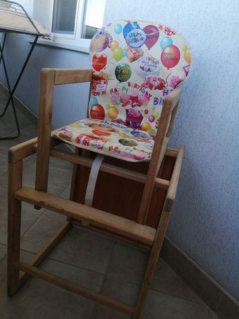 Дитячий столик-трансформер