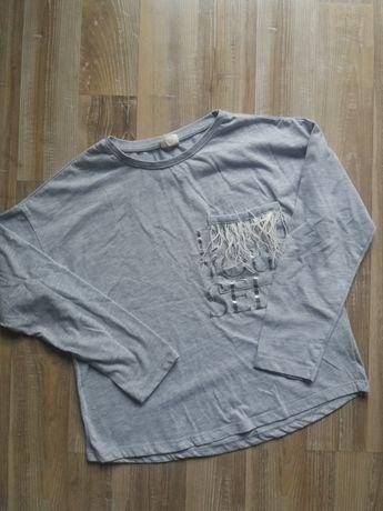 Bluzka Zara z piórkami 146/152