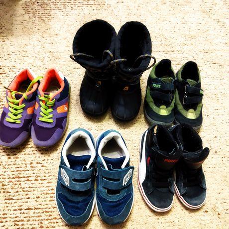 Обувь детская одним лотом