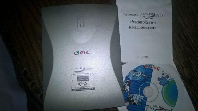 Голосовой факс-модем GVC R21 Vector