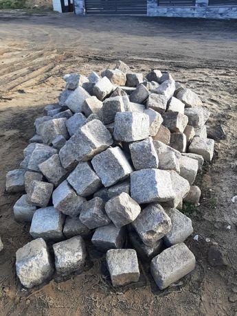 Kostka brukowa granitowa 25 cm 300 zł/całość