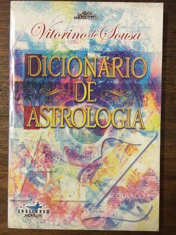 dicionário de astrologia, vitorino de sousa