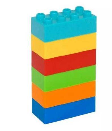 Шість цеглинок (6 цеглинок) аналог lego