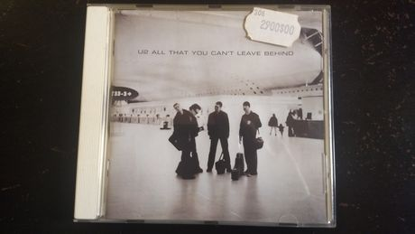 "Cd dos U2 ""All that you can't leave behind"""