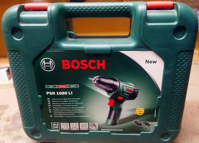 Wkrętarka Bosch PSR 1080 LI