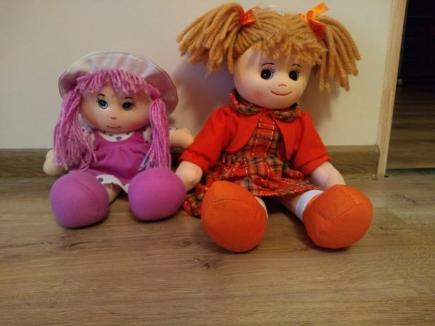 Zestaw 2 lalki przutulne