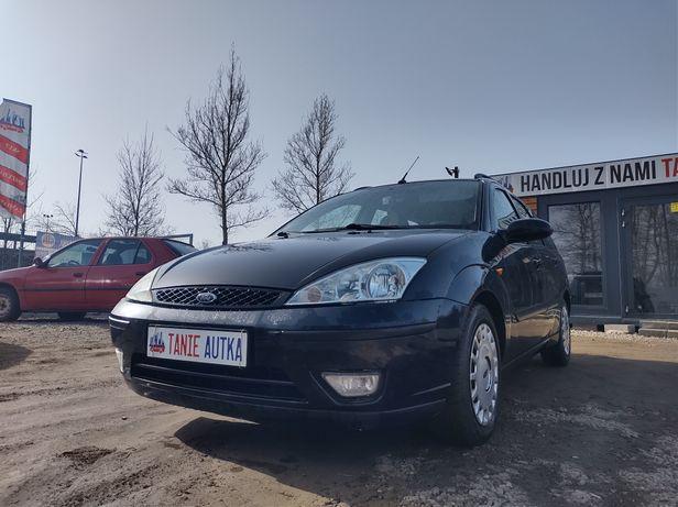 Ford Focus 1.8TDDI // Skórzana tapicerka // Okazja // Zamiana // Hak