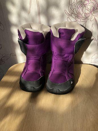 Взуття для дівчинки термо