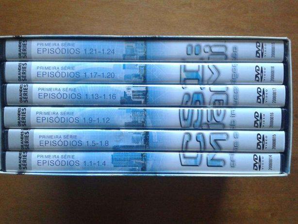 Série de TV CSI Miami - 1ª temporada (6 DVDs - BAIXA DE PREÇO!)