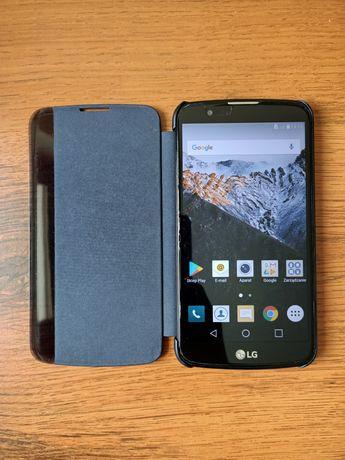 LG K10 k420n+quick cover view  gratis zapasowa bateria