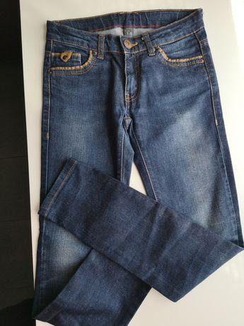 Spodnie dżinsowe Zara rozm 128