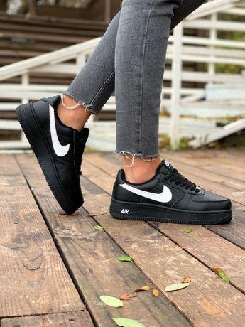 Кроссовки Женские Зима Мех ХИТОВАЯ!!!Найк Nike air force Ботинки Сапог