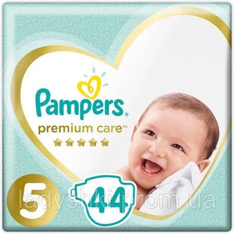 Подгузники Pampers premium care 5, 44шт