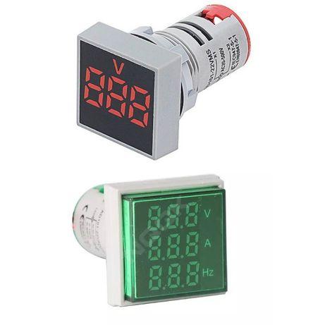 Voltímetro Digital Painel LED AC 20-500V