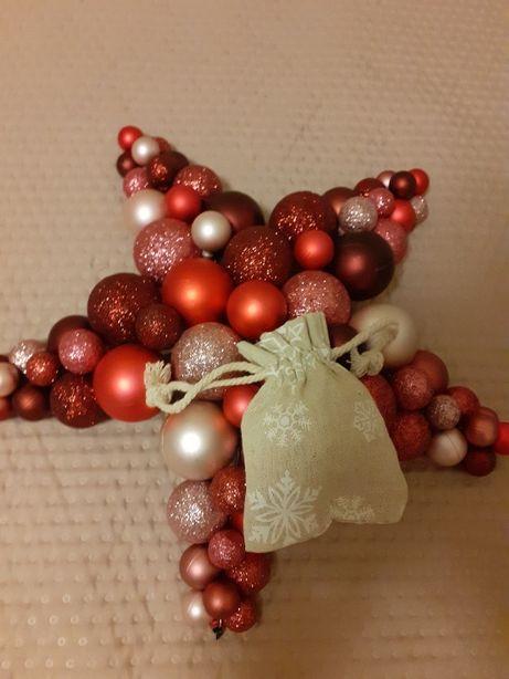 woreczki z lawendą Boże Narodzenie