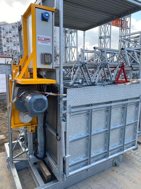 winda/ Dźwig budowlany towarowo osobowy