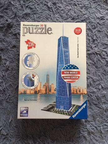 Ravensburger puzzle 3D 2016 New World Trade Center