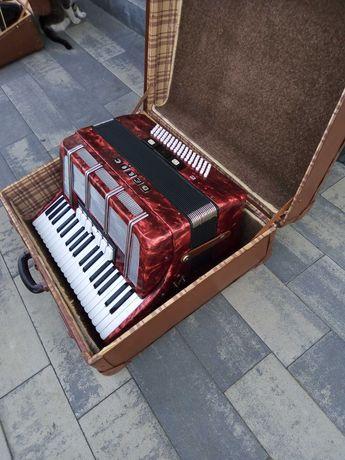 akordeon delicia-nie hohner 80 bas -klawiatura 96 stan bdb.nastrojony