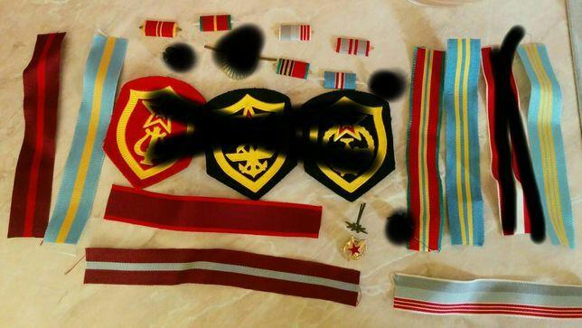 Новая фурнитура ленты эмблемы планки емблеми ленти погоны СА СССР