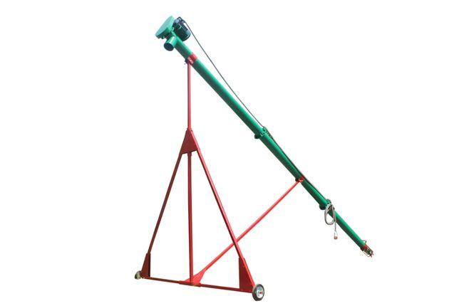 Винтовой конвейер шнековый погрузчик зерновой транспортер.