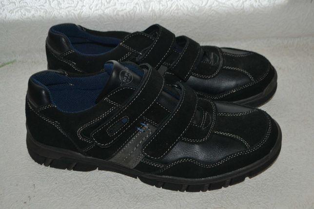 новые туфли кроссовки Memphis кожа 30 см 46 размер Германия