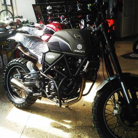 Защитные дуги для мотоцикла GEON SCRAMBLER 250 Геон скрамблер