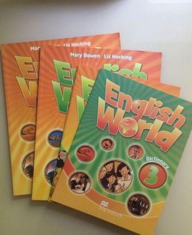 Учебники по английскому языку Macmilan English World 3 класс