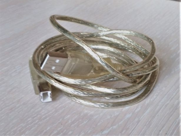USB-A > USB-B кабель-переходник для принтера и сканера