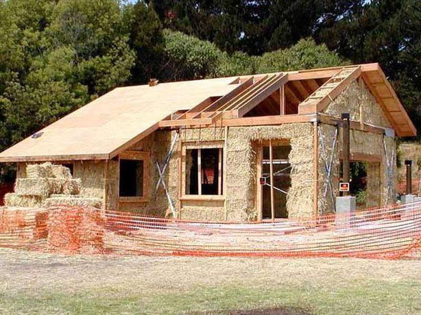 Строительство домов с нуля. Кладка кирпича, блоков. Кровля