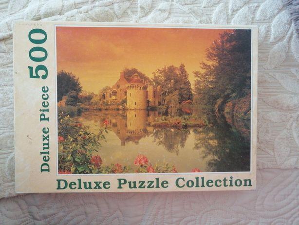Puzzle 500 widok zamek
