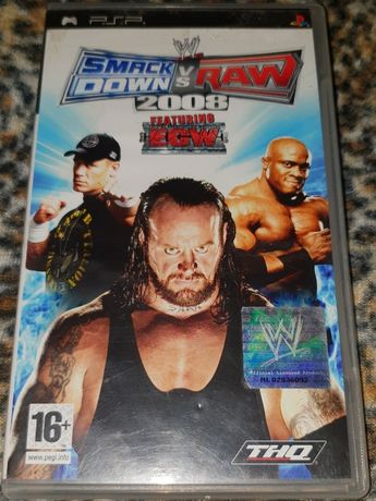 Gra PSP Play Station Portable SmackDown vs. Raw 2008 feat. ECW