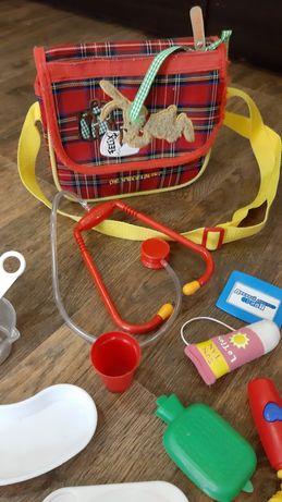 Набор доктора медицинский в сумочке