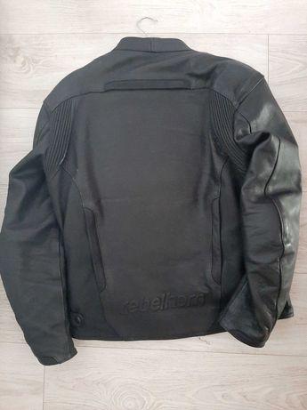 Skóra na motor, kurtka motocyklowa Rebelhorn, rozmiar M