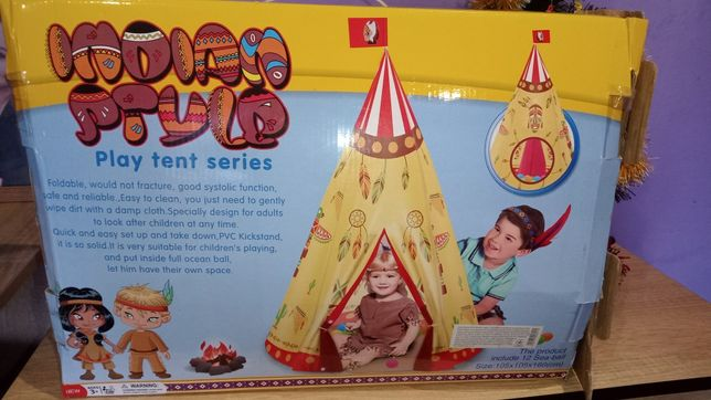 Детская Палатка домик индейцев Вигвам