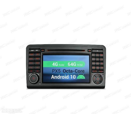 AUTO RADIO GPS ANDROID 10 MERCEDES ML W164 / GL X164