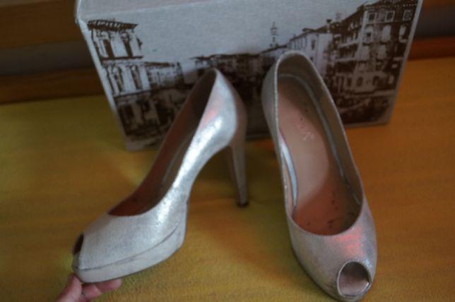 buty damskie ślubne r. 38 Venezia
