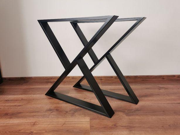 Nogi do stołu / nowoczesne / industrialne / stół dębowy