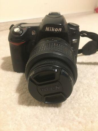Nikon D80, obiektyw AF-S Nikkor 18-55mm