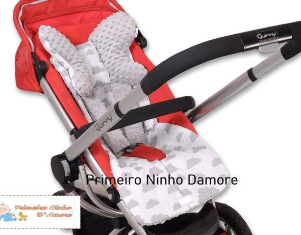 Forra, redutor, proteção de cinto segurança, almofada suporte criança