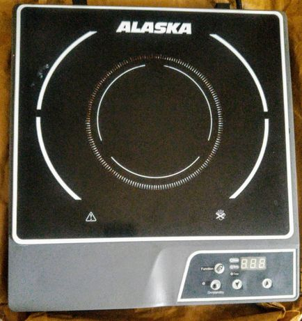 Alaska IC-1800, Płyta indukcyjna