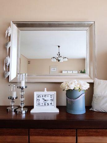 Lustro srebrne postarzałe, do domu, salonu kosmetycznego, fryzjerskie