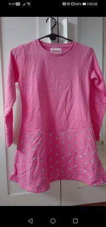 Young style nowa ciepła sukienka święta świąteczna 152