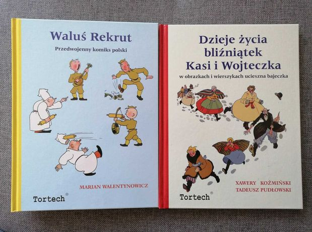 Waluś Rekrut/Dzieje życia bliźniątek Kasi i Wojteczka