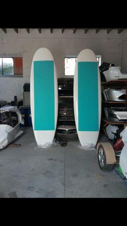 Prancha paddle medida 3 metros e 20cm em fibra de vidro