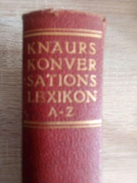 Niemiecka encyklopedia z lat 30