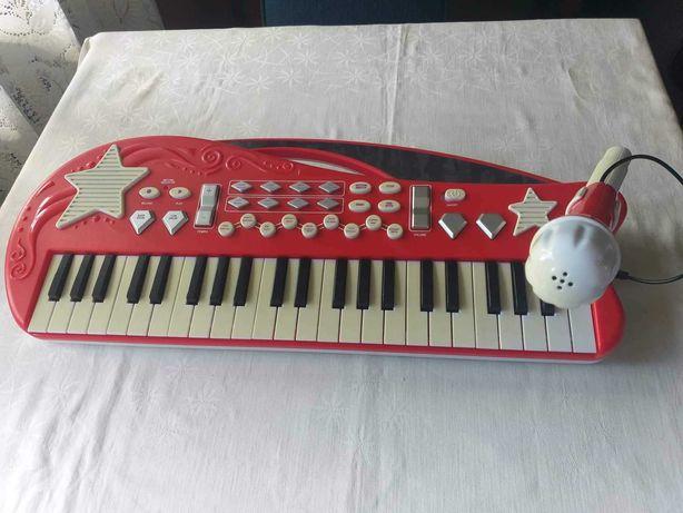 organy z mikrofonem  zabawka  3 +