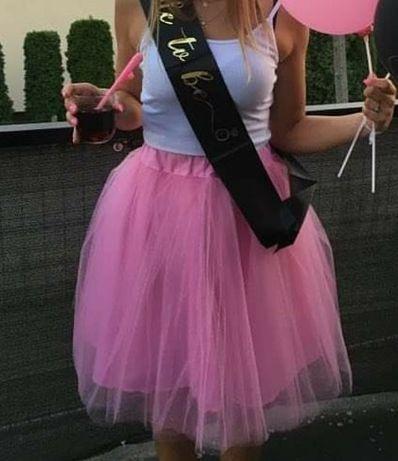 Spódniczka różowa Tiulowa wieczór panienski