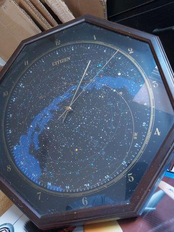 Relogio estelar parede com nome estrelas