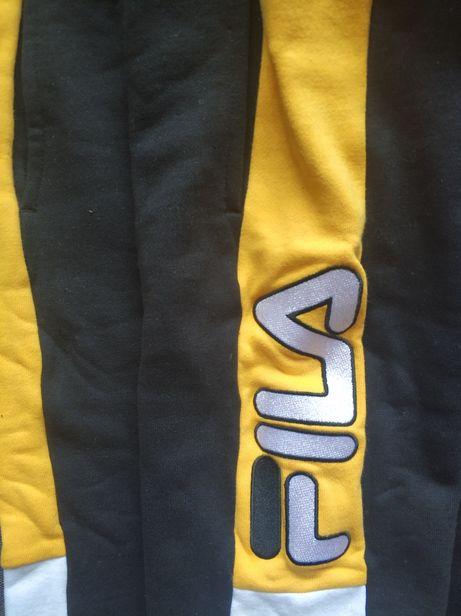 Новые оригинальные зимние шорты Fila тёплые флис